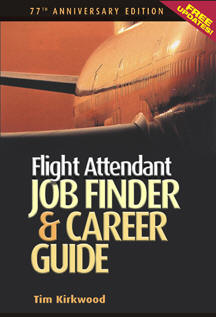 Flight Attendant Job Finder & Career Guide Cover - 77th anniversary edition